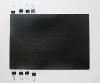 Picture of Bouwplaat Carbon 380x250x1mm